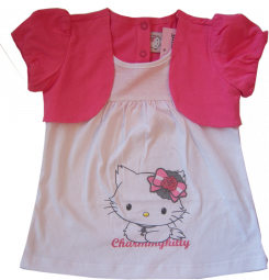 Hello Charmmy Kitty T-shirt mit Bolero