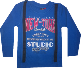 Tom & Jo langarm-Shirt