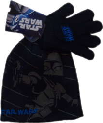 Star Wars Clone Wars Mütze + Handschuhe