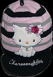 Charmmy Kitty Schild-Wintermütze