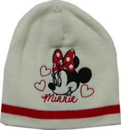 Minnie Mouse Wintermütze
