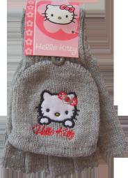 Hello Kitty Handschuhe - Fingerhandschuh und Fäustling