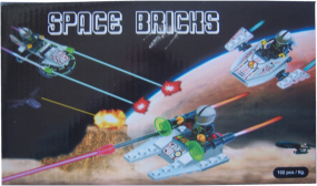Space Bricks Bausteine