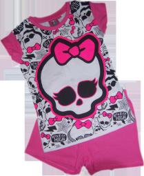 Monster High Schlafanzug kurz