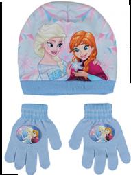 ANNA und Elsa Mütze+Handschuhe