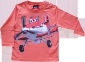 Planes Langarmshirt