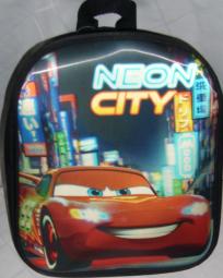 Cars 3D Rucksack Neon City